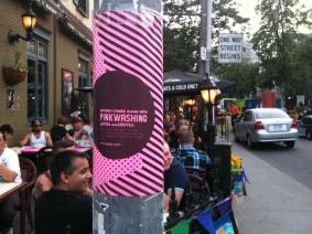 Image 7 - Pinkwashing Poster Street View 1